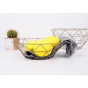 Metal-Fruit-Basket-Holder-Kitchen-Dinning-Table-Decoration-Fruit-Bowl-Tray