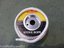 1 METER STOVE ROPE HOTSPOT 9mm DIAMETER GLASS FIBRE SEAL FIRE HEATING WOOD BURN