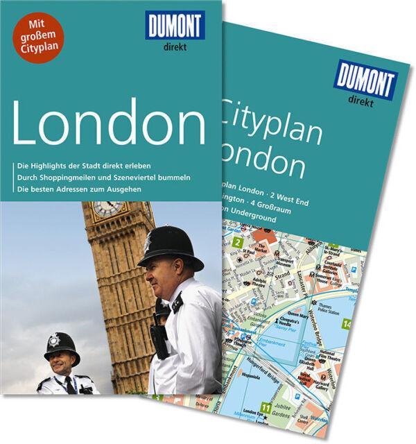 DuMont direkt Reiseführer London 2014, 3. aktualisierte Auflage UNBENUTZT