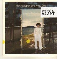 (CP244) Martina Topley Bird, Need One - 2003 DJ CD