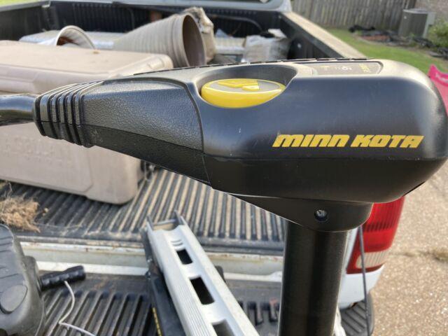 MotorGuide Bulldog Peak Thrust Foot Control Trolling Motor 54