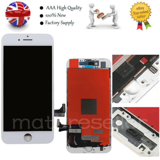 For Apple iPhone 8 LCD Touch Screen Display Digitizer Replacement Assembly White