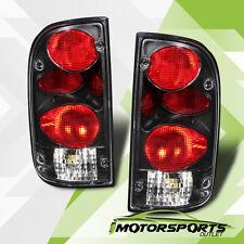 1995 1996 1997 1998 1999 2000 Toyota Tacoma Black Rear Brake Tail Lights Pair