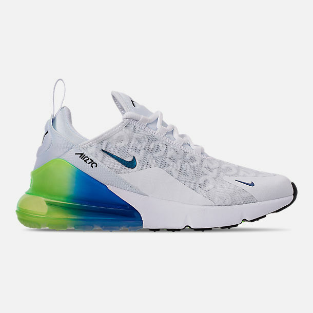 Nike Air Max 270 SE Whitelime Blast Aq9164 100 Sz 10 Shoes