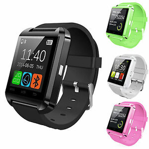 Bluetooth Smart Wrist Watch Phone Mate For IOS Android iPhone ... a1861bf950c5