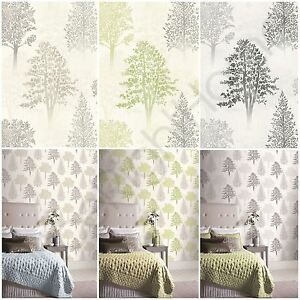 Image Is Loading ARTHOUSE DIAMOND TREE WALLPAPER TEXTURED GLITTER GREEN MONO