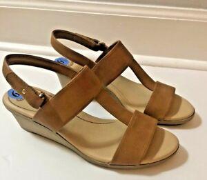 6a9066201cb Dr .Scholls Open Toe Wedge Heel Sandals Womens Size 6.5 M NEW True ...