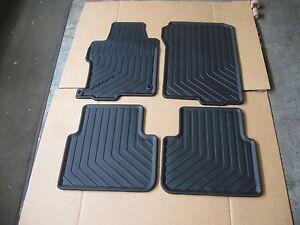 New Honda Oem All Season Floor Mats 4pc P N 08p13 T2a 110 Accord 4dr 13 17 Ebay