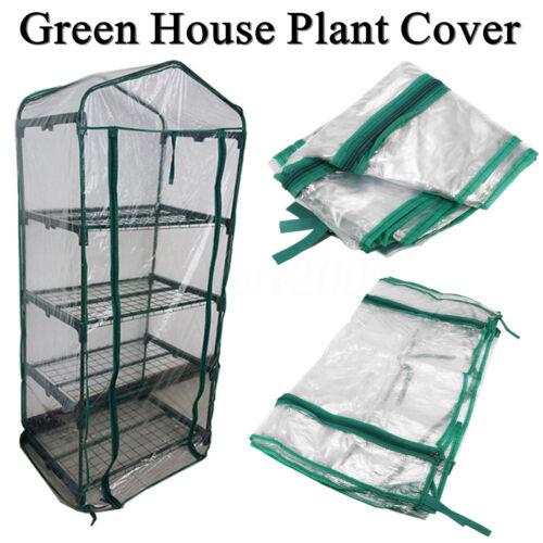 Garden Green House Mini Portable Plant Cover Outdoor Warm Storage PVC Plastic