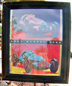 1988-Andy-Warhol-Cars-Mercedes-Benz-W125-Grand-Prix-Car-Framed-Pop-Art-Poster