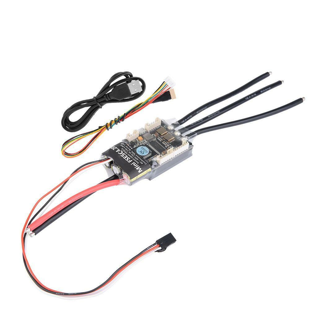 HGLRC-Flipsky Mini FSESC4.20 50A ESC Based Upon VESC W  Aluminum Anodized Heat