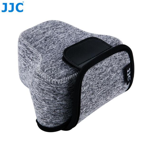 JJC Ultra Light Camera Pouch Bag Case for Canon M M2 M3 M10+18-55mm/15-45mm Lens