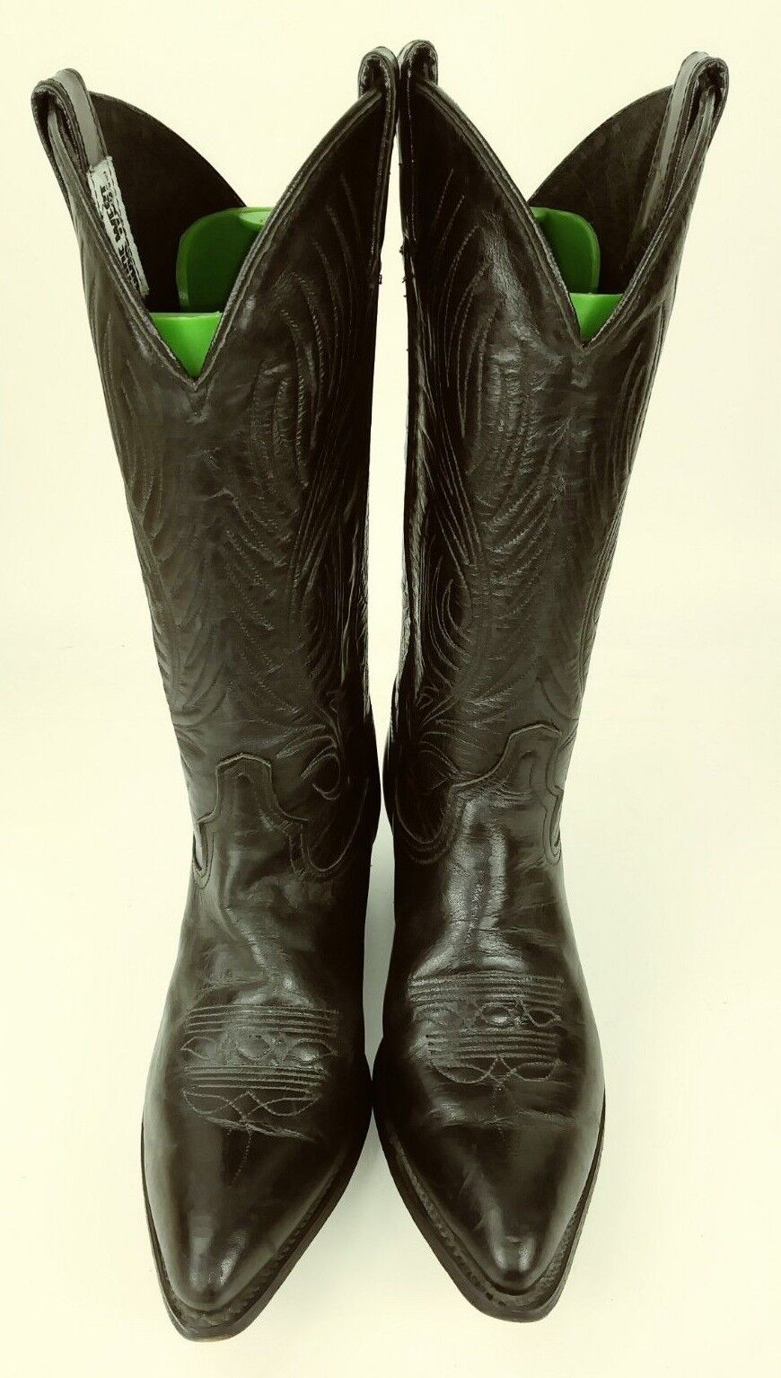 Code West 460 Womens Boots Boots Boots US 6.5 M Black Leather Cowboy Rockabilly USA 575 e1ec46