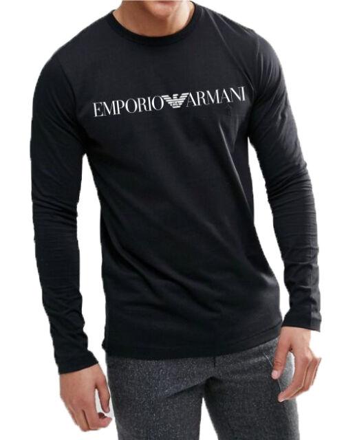 f23ee4757e Emporio Armani Mens Knit Plain T-shirt White Bianco Medium