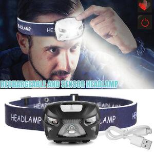USB-Rechargeable-Sensor-Head-Torch-Light-Waterproof-LED-Headlamp-Headlight