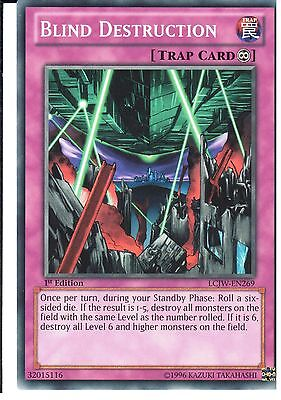 LCJW-EN269-1st EDITION BLIND DESTRUCTION YU-GI-OH