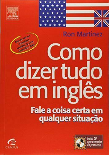 Como Dizer Tudo EM Ingles by Ron Martinez for sale online | eBay
