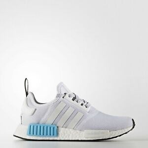 affordable price the best meet Boys Girls Juniors Adidas Originals NMD R1 J Trainers Grey/Blue ...