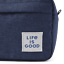 Life is good Men/'s or Women/'s Travel Tote Lunch Hobby Carry Beach Lined Bag NEW!