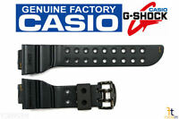 Casio G-shock Frogman Gw-200ms 18mm Rusty Black Rubber Watch Band Strap