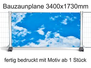 013 Bauzaunbanner Wolkenhimmel