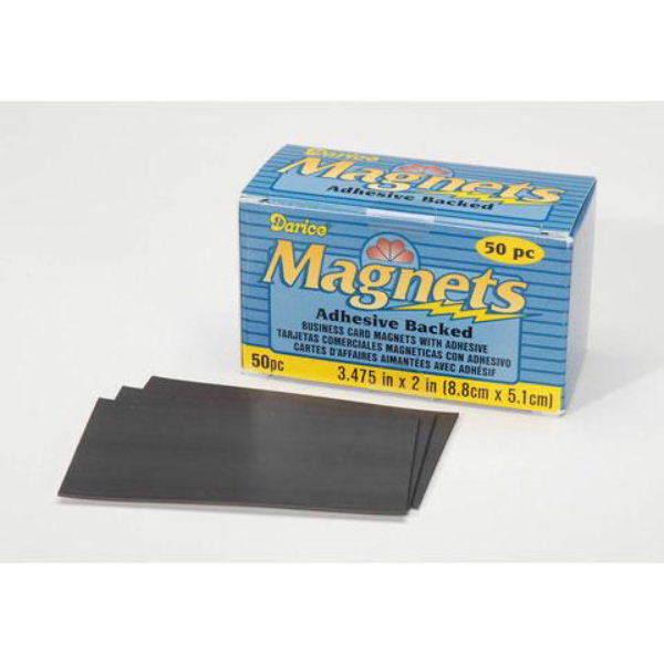Darice 101778 Business Card Magnet 3 475inch 50pack Ebay