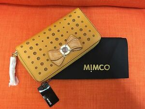 MIMCO-BOW-LEATHER-WALLET-WITH-DUSTBAG-BRAND-NEW-100-AUTHENTIC