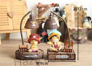 Figura Anime De una pieza de Lámpara de Escritorio Lámpara De Resina Dormitorio Regalo Decoración De Casa