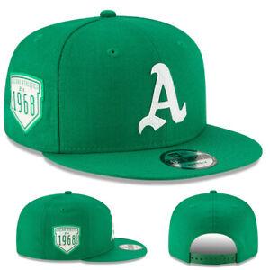 MLB Oakland Athletics New Era Logo Peek 9FIFTY Snapback Cap Hat Headwear