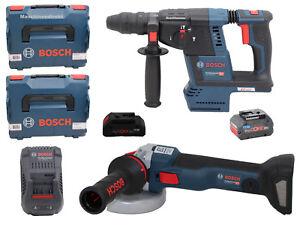 Bosch-Akku-Bohrhammer-GBH-18V-26-F-Akku-Winkelschleifer-GWS-18V-10-C-ProCore