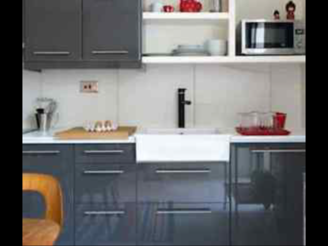 1 Ikea Ringhult ABSTRAKT Gloss Grey For SEKTION Kitchen
