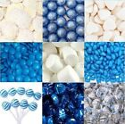 1.8kg DIY Blue White Silver Lollies Choc Candy Bar Wedding Party + Accesories
