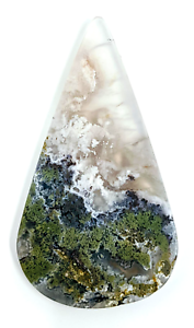 35-4ct-Natural-Fine-Moss-Agate-Pear-Cabochon-Landscape-Agate-Untreated-Unheated