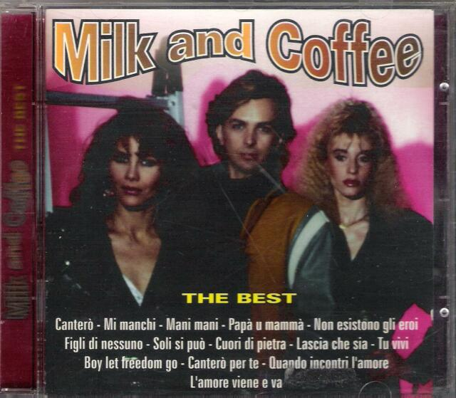 MILK AND COFFEE - RARO CD FUORI CATALOGO