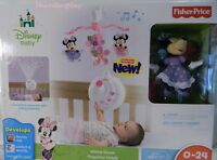Fisher DISNEY BABY - Minnie Mouse Projection Crib Mobile Toys