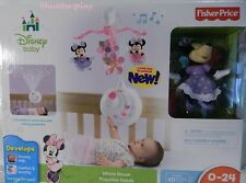 nib Fisher Price DISNEY MINNIE MOUSE Projection Mobile  X7301 NEW