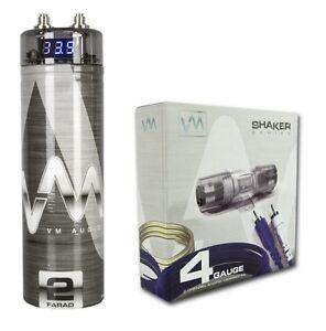 vm audio srsk4b 4 gauge ga car amplifier amp wiring kit 2. Black Bedroom Furniture Sets. Home Design Ideas