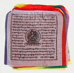 Prière Drapeaux Du Népal, Petit, Bonheur/prospérité-d Fr-fr Afficher Le Titre D'origine
