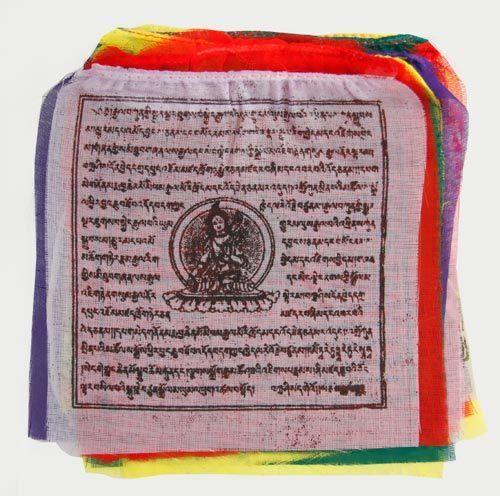Gebetsfahnen de nepal, pequeño, suerte/prosperidad