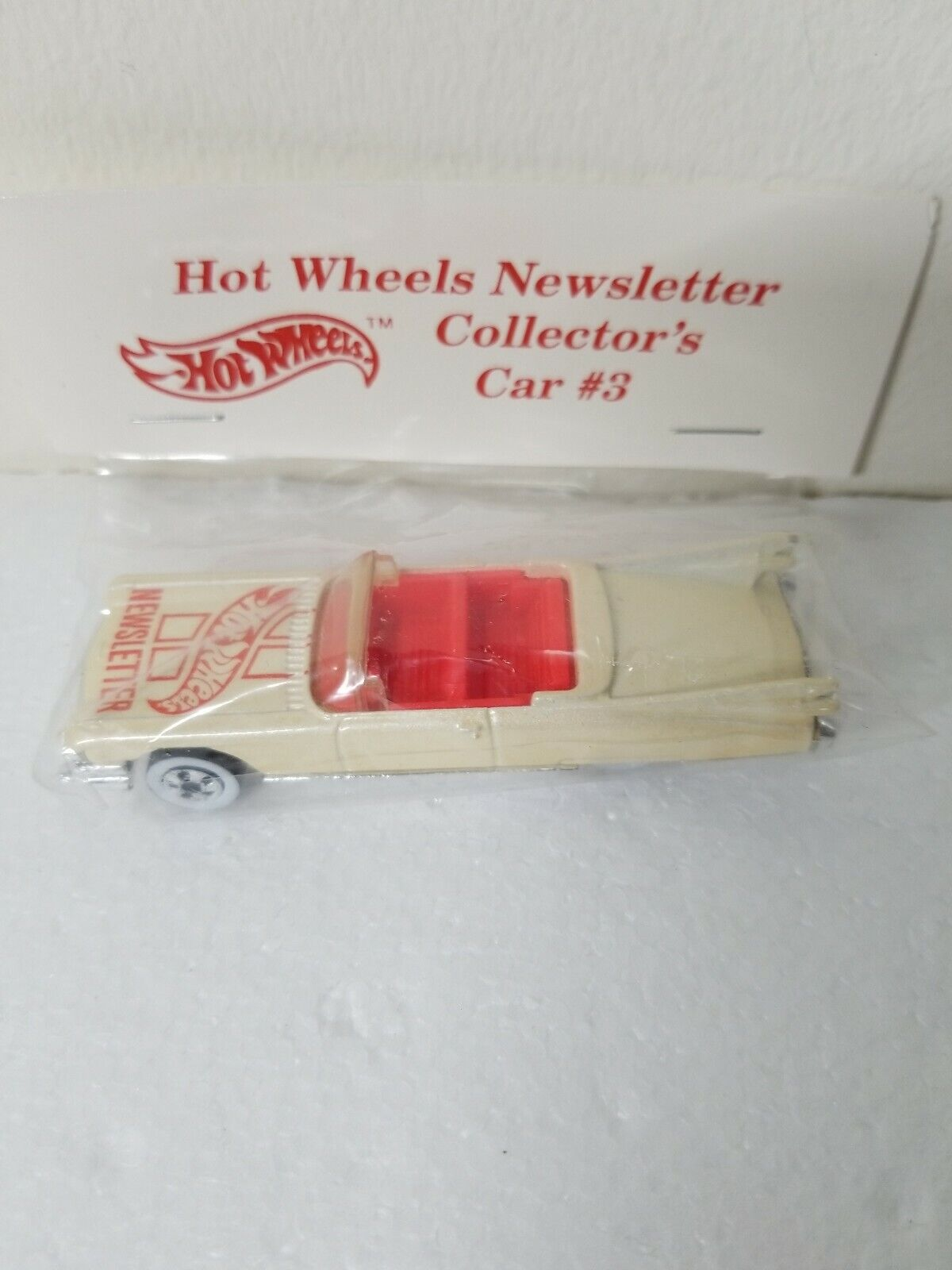 Hot Wheels Newsletter Collector's Voitures