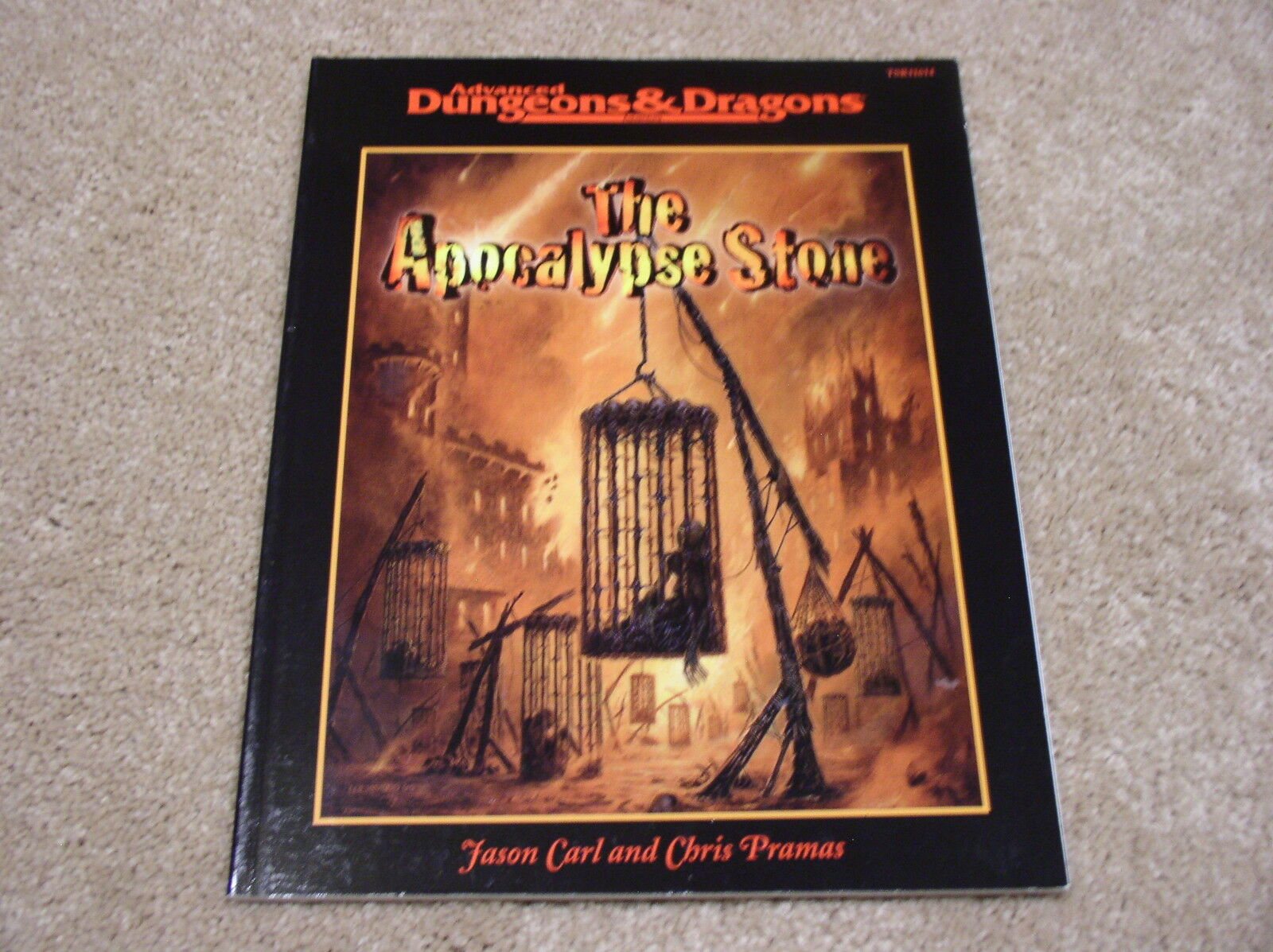 AD&D The Apocalypse Stone adventure