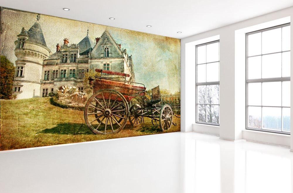 3D Simple pastoral 1D Wall Paper Murals Wall Print Decal Wall Deco AJ WALLPAPER