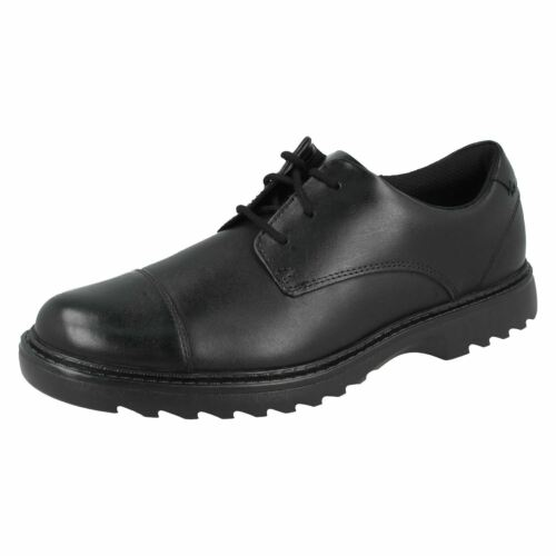 Boys Clarks Formal Lace Up School Shoes *Asher Soar*