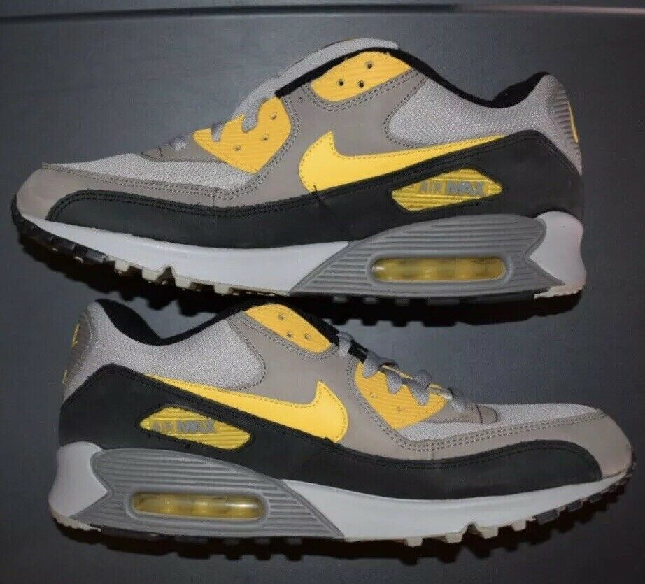 2005 NIKE AIR MAX 90 LEATHER MAIZE GREY BRAND NEW, Men's Size 13