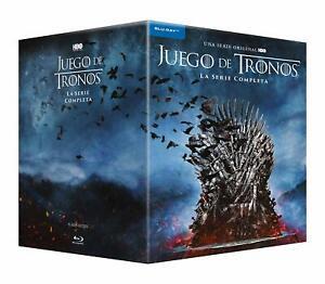 Juego-De-Tronos-Temporada-1-8-Blu-Ray-Coleccion-Completa-Nuevo-Precintado