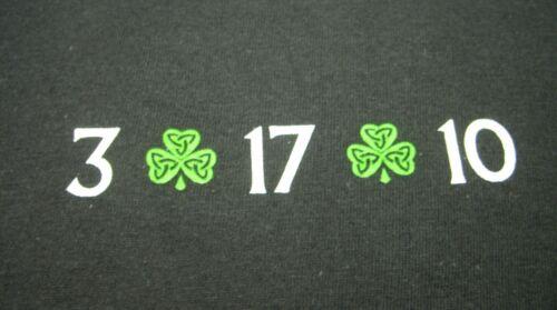 St PATRICKS DAY T-SHIRT *NEW* BUSHMILLS IRISH WHISKEY /& BAILEYS IRISH CREAM