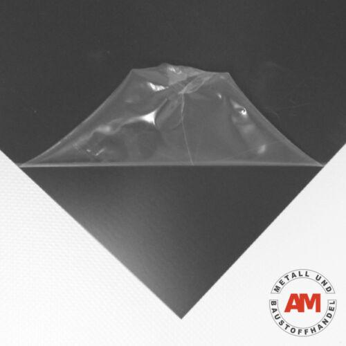 ALUMINIUMBLECH beschichtet RAL 7016 1000x1500mm 0,8mm Dachblech Anthrazitgrau