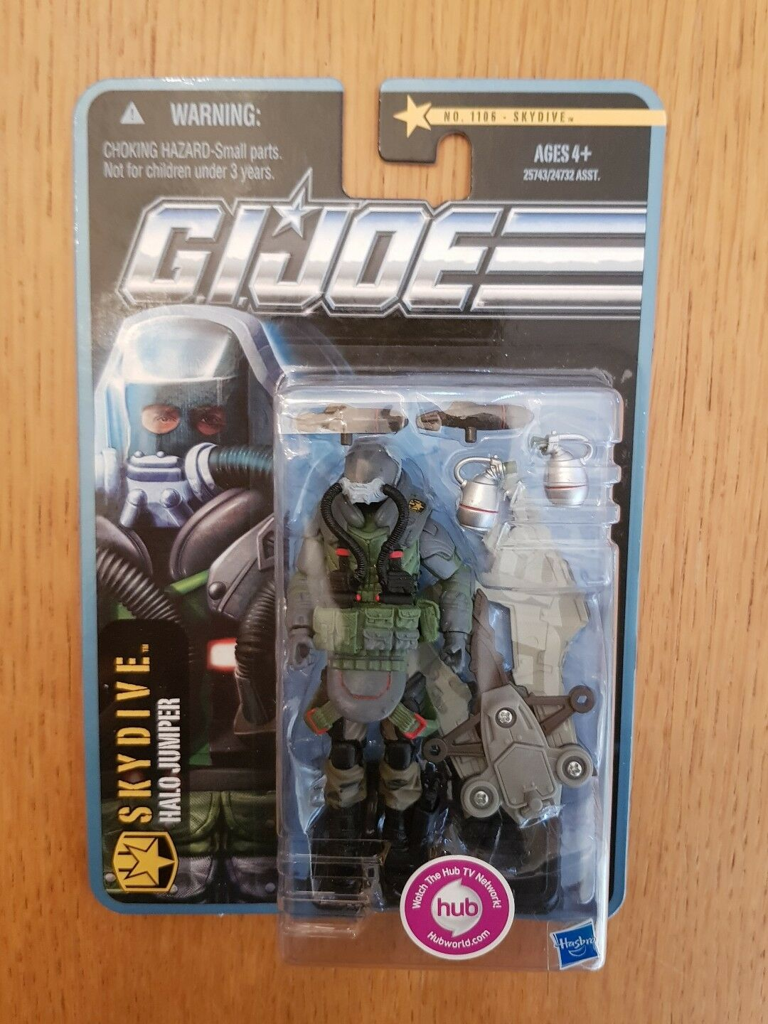 Action Force GI Joe Pursuit of Cobra Skydive New Sealed MOC