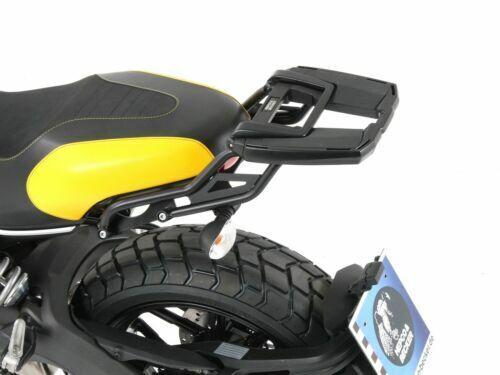2015-18 Ducati Scrambler 800 Easyrack Top Box Carrier Black BY HEPCO /& BECKER