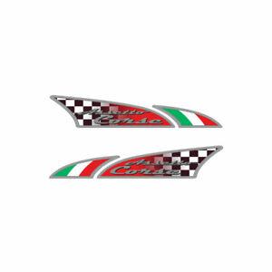 Adesivo Logosport per Auto Assetto Corse Dx + Sx